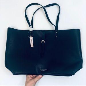 Victoria's Secret Faux Leather Tote Bag NWT